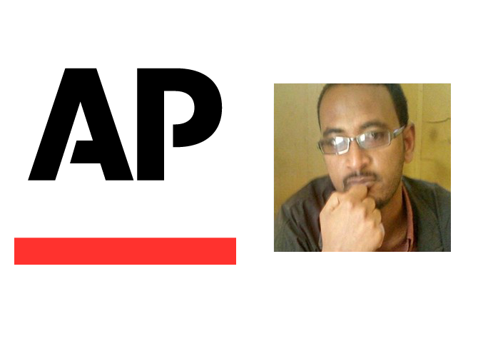 Elias Meseret, Associated Press Correspondent in Ethiopia (Composite: The Horn Post)